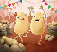 Fête de la patate au Mottier (38) le 26 août 2018